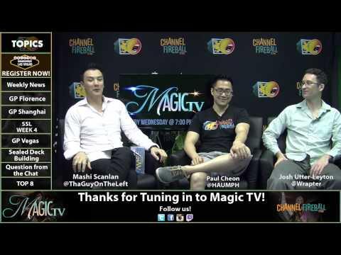 Magic TV - Standard in Shanghai and the SSL Week 4