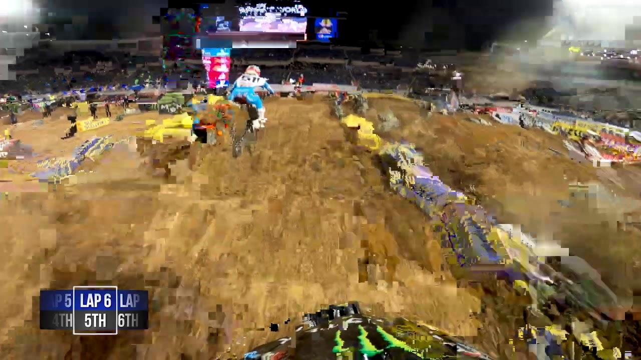 GoPro: Malcolm Stewart | 2021 Monster Energy Supercross | Orlando 2 | 450 Main Event Highlights