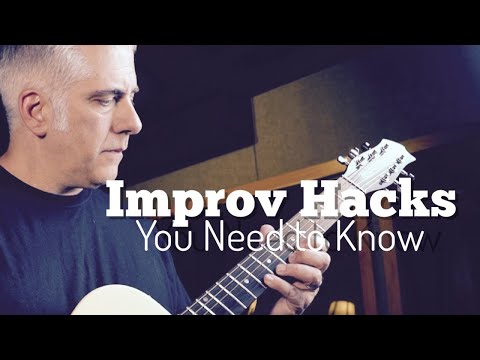 Guitar Improv Hacks You NEED To Know + Rant