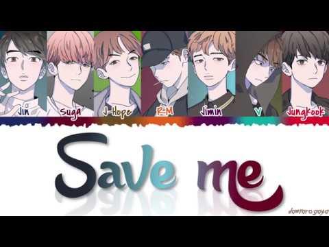 BTS 방탄소년단 – &39;SAVE ME&39;  Color CodedHanRomEng