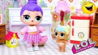 СБОРНИК Смешные мультики №9 с Куклами Сюрпризы ЛОЛ | Весёлые Игрушки LOL Dolls