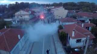 Demonstration Against The Fence In Evros 31/10/15