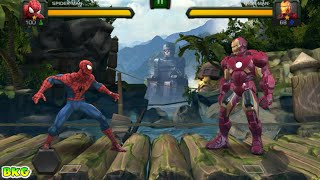 SPIDERMAN vs IRON MAN and CAPTAIN AMERICA and MORE Fighting Game - Best Kid Games