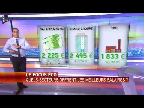 Le Focus Eco : quels secteurs offrent les meilleurs salaires ?