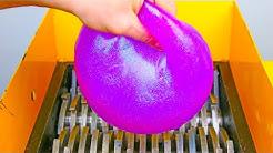 Shredding Mega Slime Ball! Satisfying ASMR Video!