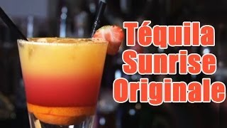Cocktail: Une Tequila sunrise