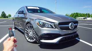 2019 Mercedes-Benz CLA 45 AMG: Start Up, Exhaust, Test Drive and Review