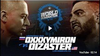 KOTD   Oxxxymiron RUS vs Dizaster USA   #WDVII