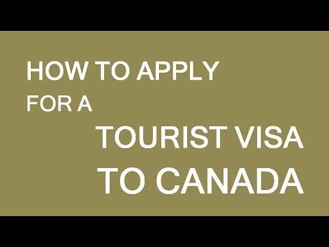How to apply for temporary (tourist) visa to Canada. LP Group Canada