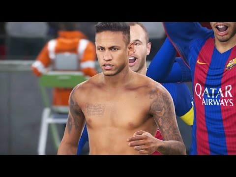 PES 2017 - NEYMAR'S UNIQUE CELEBRATION