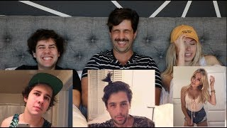 Download REACTING TO OUR CRINGIEST PHOTOS ft DAVID DOBRIK AND CORINNA KOPF! Mp3 and Videos