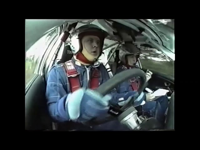 NZRC Archives | 2003 - In-car with Mason