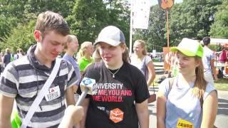 Reportage: Kick-In Universiteit Twente begint (TV Enschede)