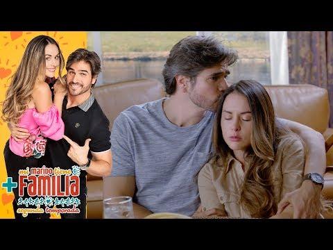 Robert y Julieta escriben una carta para Daniela | Mi marido tiene más familia - Televisa