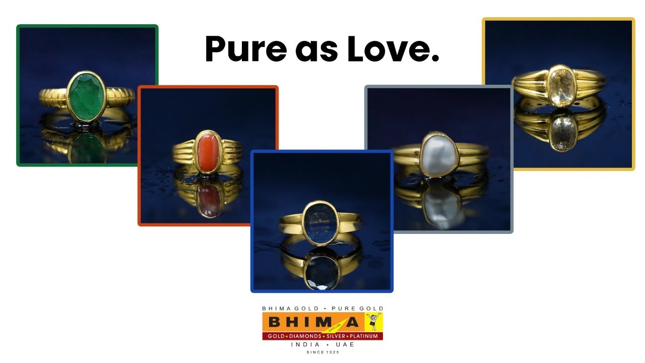 Precious Single Stone Rings | Collections With Bhima