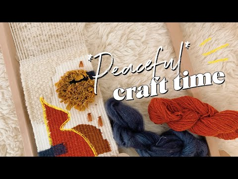 Peaceful Craft With Me (ep. 2) #withme | WITHWENDY