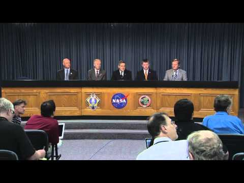 Shuttle Managers Address Media after Last Space Shuttle Comes Home