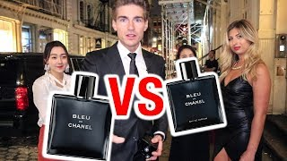 Bleu de Chanel EDT vs Bleu De Chanel EDP