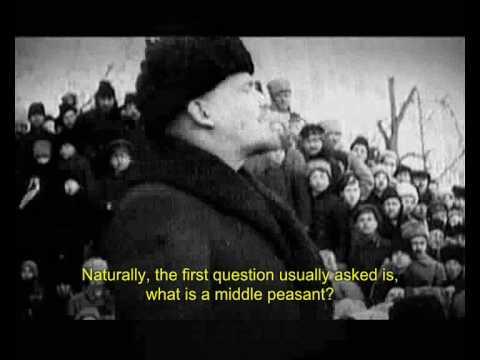 Lenin's speech: The Middle Peasants ☭ Ленин: О крестьянах-середняках