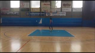 WORKOUT DAVID SAINSBURY (2,04 m) CLUB ESTUDIANTES DE MADRID - PLAYER EBA/ACB LEAGUE