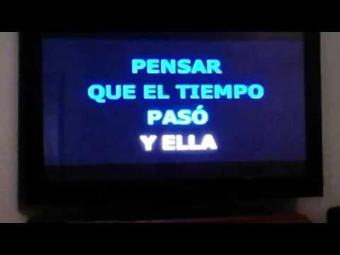 I try : my best karaoke of Destino from Ana Garbiela