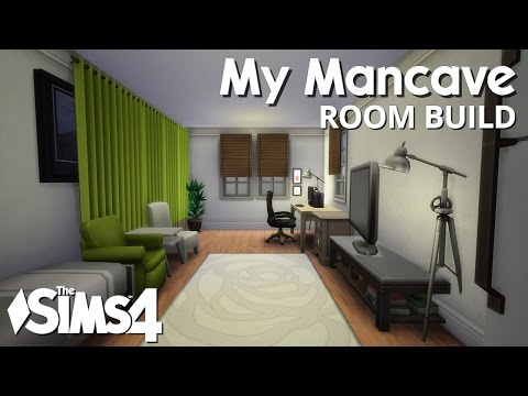The Sims 4 Room Build - My Mancave