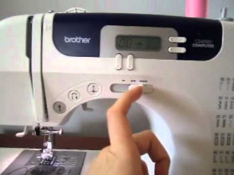 Brother CS40i Walk Thru YouTube Delectable Brother Sewing Machine Cs 6000