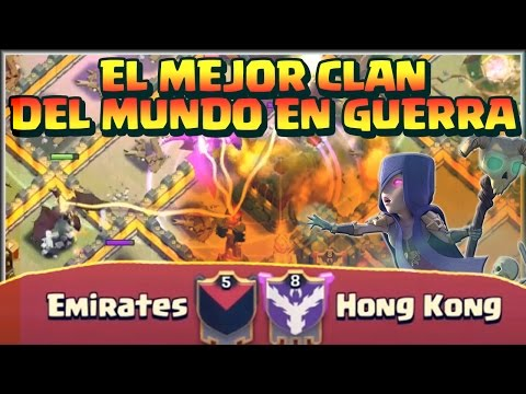 👊👊EL MEJOR CLAN DEL MUNDO EN COPAS👊👊 - EMIRATES VS HONG KONG - Clash Of Clans - Español - CoC