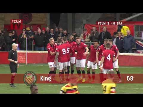 FCUM vs Bradford Park Avenue - Goals - 24/03/18