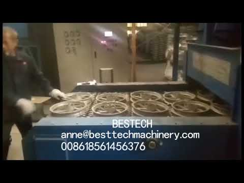 Mesh Wire Belt Shot Blast Machine