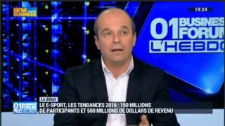 Reportage BFM Business sur l'Esport
