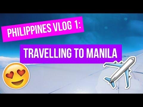 Philippines Vlog 1: Travelling to Manila |ComicalGabbyVlogs