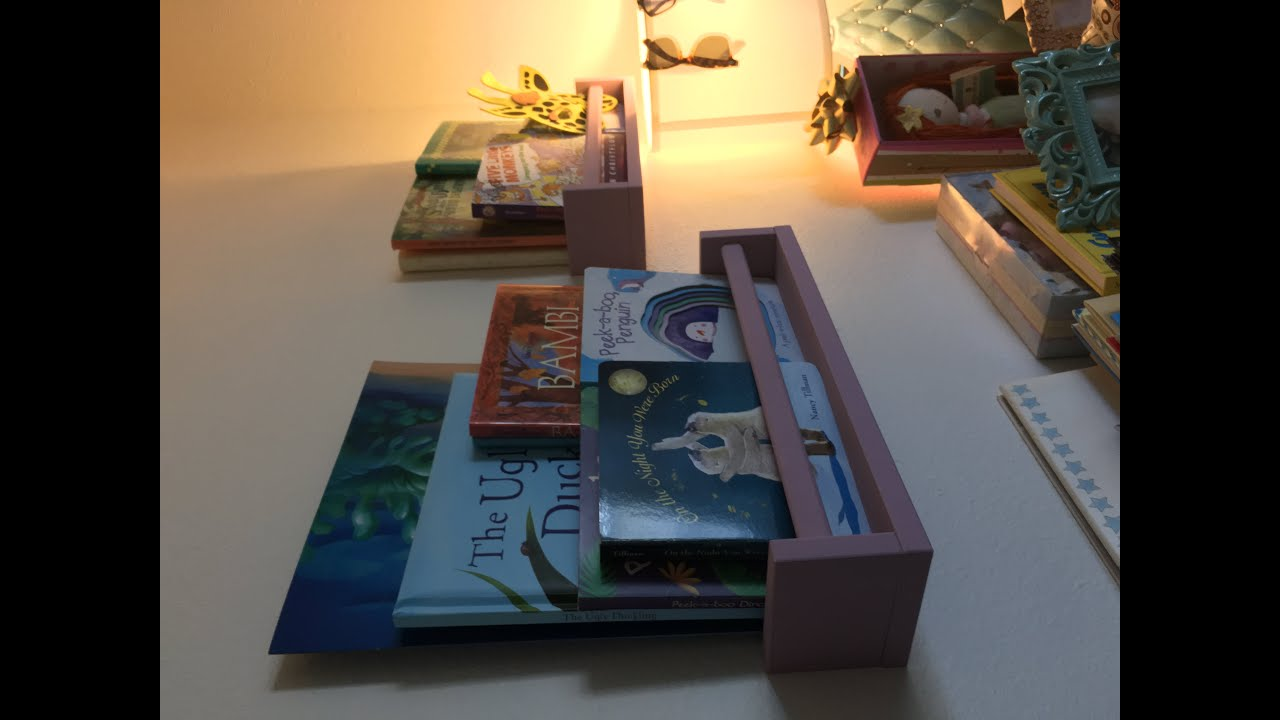 DIY Kids Book Shelves