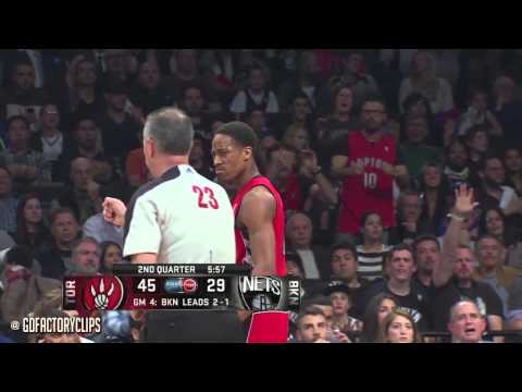 DeMar DeRozan & Kyle Lowry Full Combined Highlights at Nets - 2014 Playoffs East R1G4