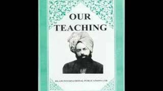 OUR TEACHINGS  (ENGLISH AUDIO BOOK) BY HADHRAT MIRZA GHULAM AHMAD (As)  PART 6/8