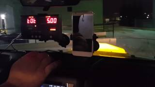 Record CG3 Taximeter Demo with Black Cat Adapter and Companion App