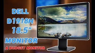 Dell D1918H 18 5 inch HD Monitor Unboxing and In Depth Review Hindi