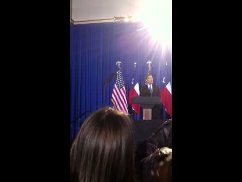 President Barack Obama visits Houston! (Part 1)