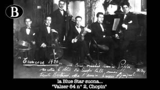 """Pippo Barzizza dirige """"Valzer 64 n. 2"""", di Fryderyk Chopin. Orchestra Blue Star, anni"""