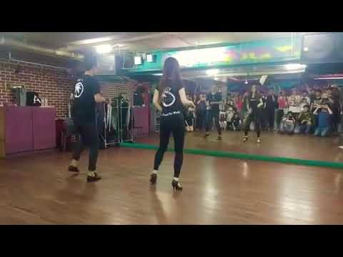 Jay K & Lucy - Bachata Footwork Musicality - 제이케이&루시 바차타 풋워크 뮤지컬리티 20170902