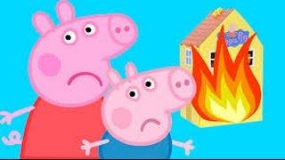 Свинка ПЕППА - пожарная машина (Хиппо тушит пожар)