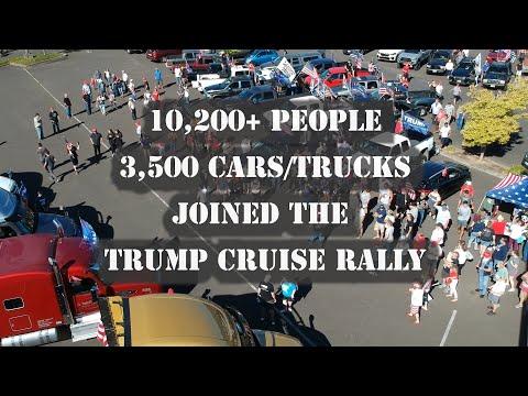 Trump 2020 Cruise Rally in Portland Oregon