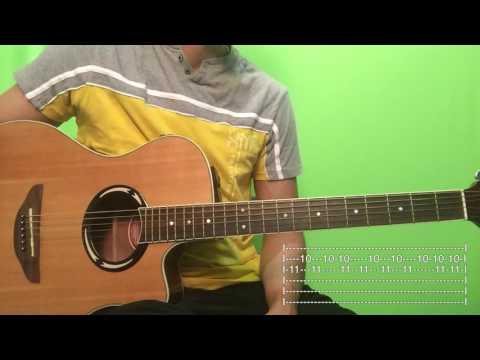 Te Extraño - Xtreme Tutorial/Como tocar en Guitarra
