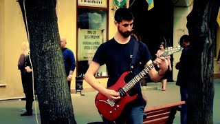 R.H.C.P - Californication, cover / Одесса, крутые уличные музыканты - 6