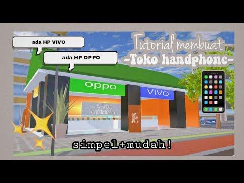Download Tutorial membuat toko HP di Sakura School Simulator🌸