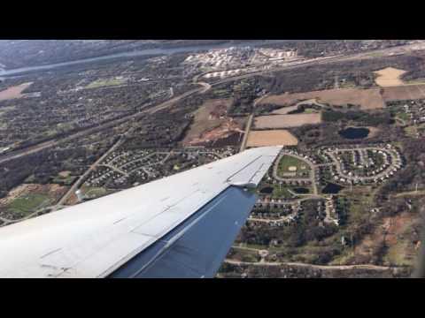 Boeing 717 Delta airline aborted landing in Minneapolis