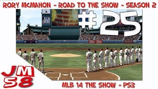 MLB 14: Road to the Show - NLDS Playoffs vs Reds - [Ep 25]