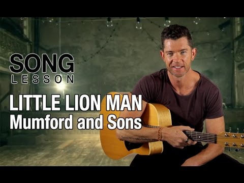 How to Play \'Little Lion Man\' by Mumford And Sons - Acoustic Guitar ...