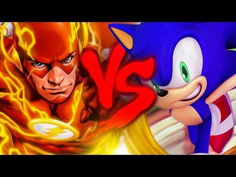 Flash VS. Sonic | Duelo de Titãs