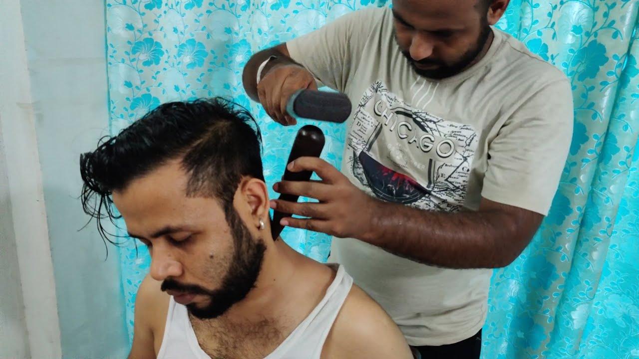 Tok Sen Head Massage by Reiki Master with Cracking   Indian Massage